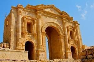 Ciudad de Jerash - Ciudad romana de Jerash